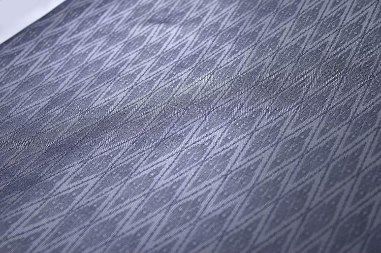 丹後夏用特殊織り 着尺 藍鉄 あいてつ色 …盛夏用…