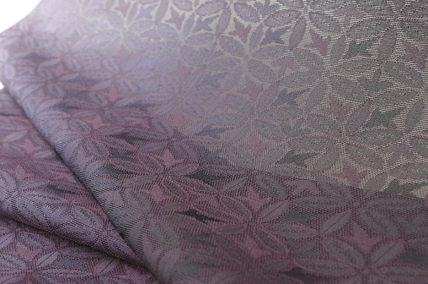 丹後夏用特殊織り 着尺 利休鼠 りきゅうねずみ色 …盛夏用…