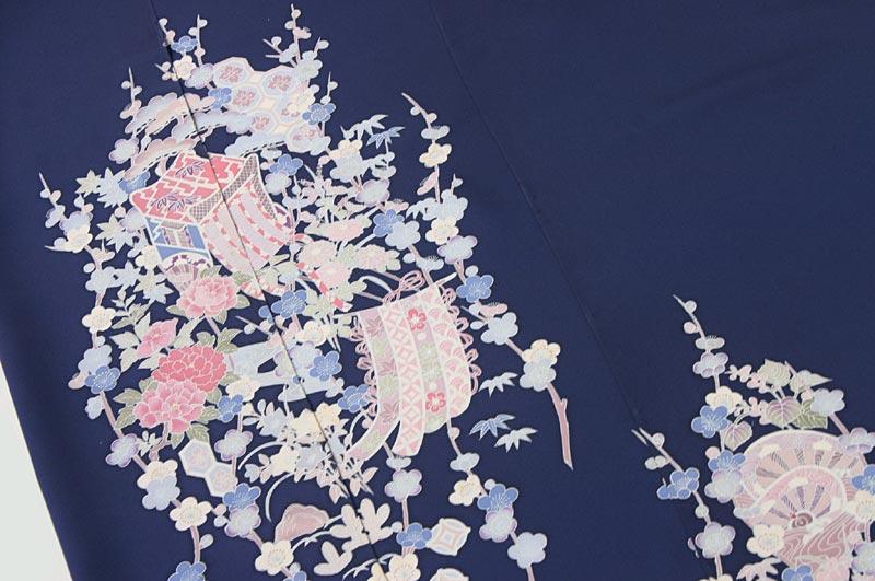 桜鼠〈さくらねず〉色水玉絽小紋AB反 …盛夏用… ��24031902